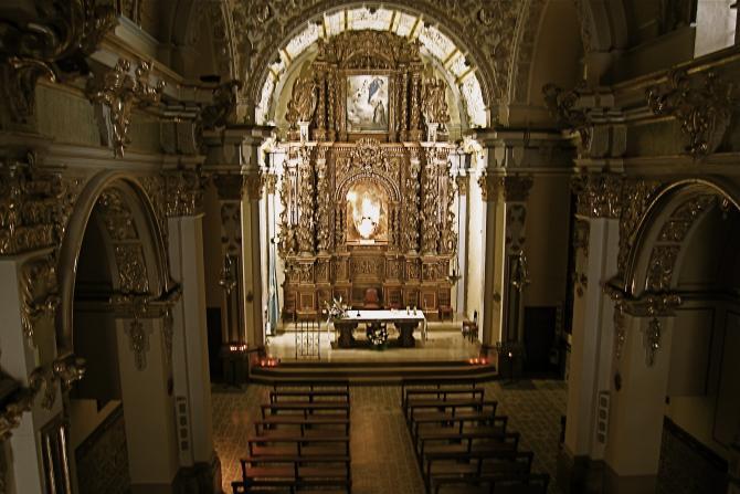 Interior de la ermita de n s de los ngeles sant mateu - Interior de castellon ...