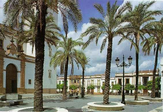 Plaza de la constituci n rociana del condado huelva - Fotos antiguas de rociana del condado ...