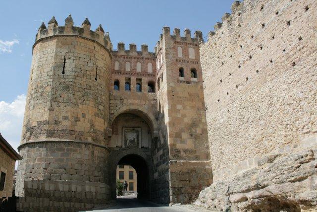 Puerta de san andr s en las murallas segovia - Puerta de segovia ...