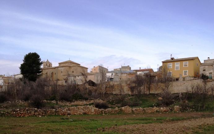 Las vallas de piedra invierno buciegas cuenca - Vallas de piedra ...