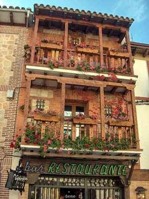 Balcones madera miraflores de la sierra madrid - Balcones de madera ...