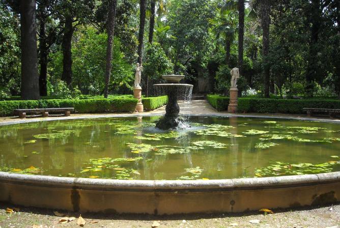 Jard n rom ntico granada for El jardin romantico