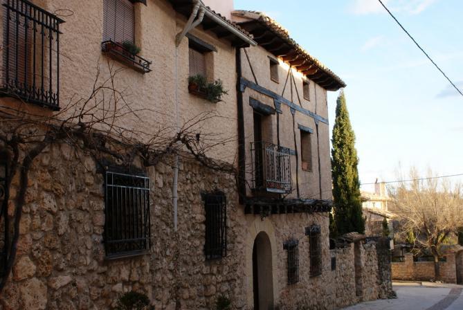 Cl sicas fachadas el olivar guadalajara - Fachadas clasicas ...