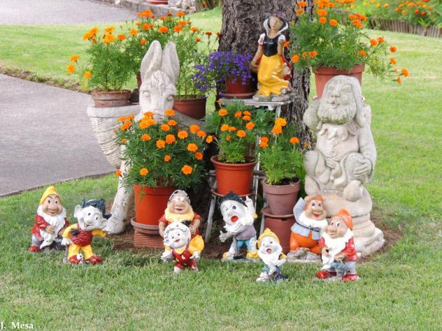 Jard n decorado noja cantabria - Jardin decorado ...