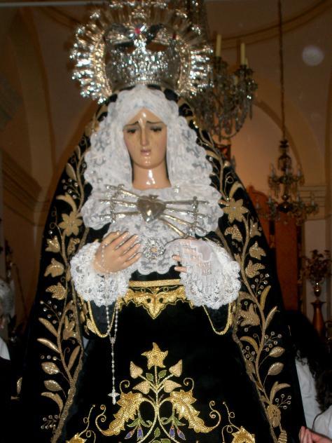 Virgen De Los Dolores BERLANGA Badajoz