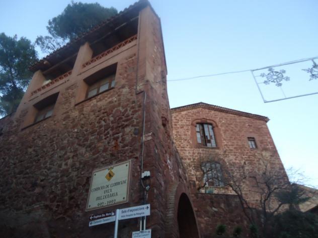 Entrada al pueblo corbera de llobregat barcelona - Corbera de llobregat tiempo ...