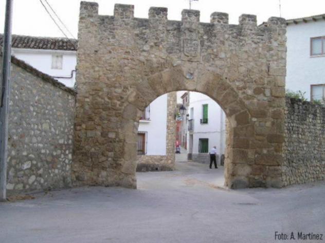 Arco de la fuente o puerta del agua ucles cuenca - Hotel puerta del arco ...