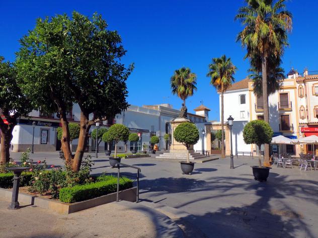 Perspectiva de la plaza de espa a lebrija sevilla - Hotel en lebrija ...