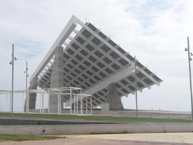 Parrilla gigante de placas solares barcelona for Placas solares barcelona