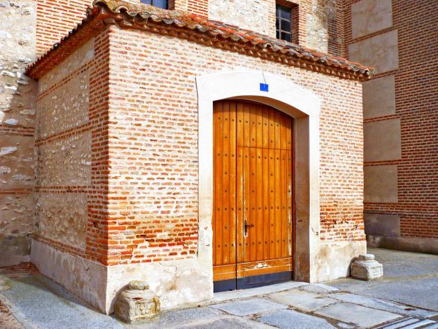 Puerta de iglesia rapariegos segovia - Puerta de segovia ...