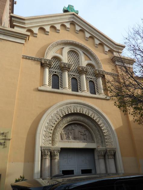 Fachada principal de la catedral de sant lloren sant feliu de llobregat barcelona - Temperatura sant feliu de llobregat ...