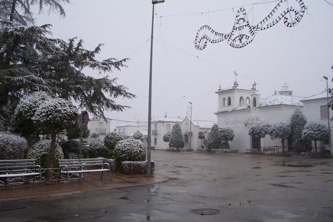 Nieve en los villares los villares de andujar ja n - Los villares jaen ...