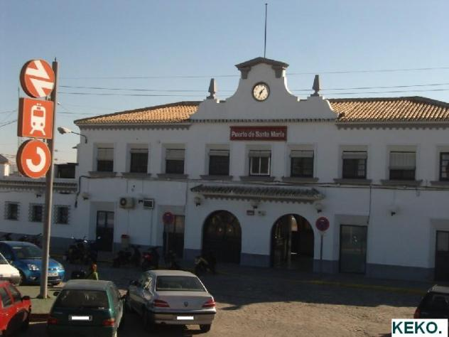 La estaci n de tren el puerto de santa maria c diz - Taxi puerto de santa maria ...