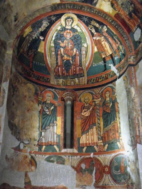 Pintura mural de santa maria de ta ll barcelona - Pintura mural barcelona ...