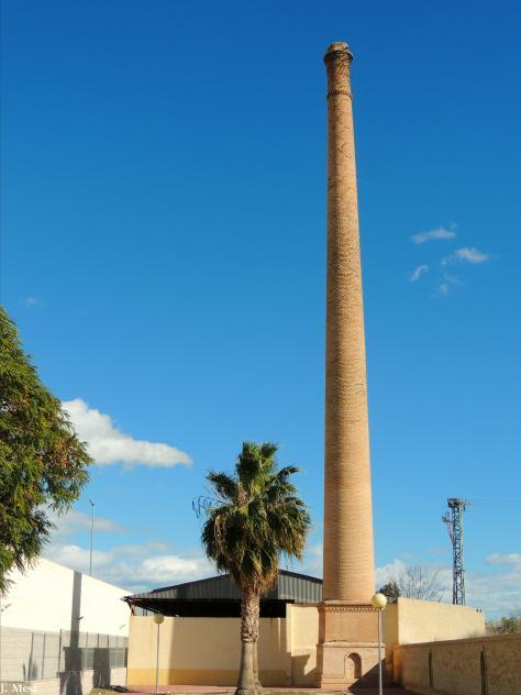 Chimenea de f brica de cer mica benejuzar alicante for Fabrica de chimeneas