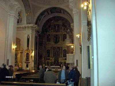 Iglesia interior arganda del rey madrid - Que ver en arganda del rey ...