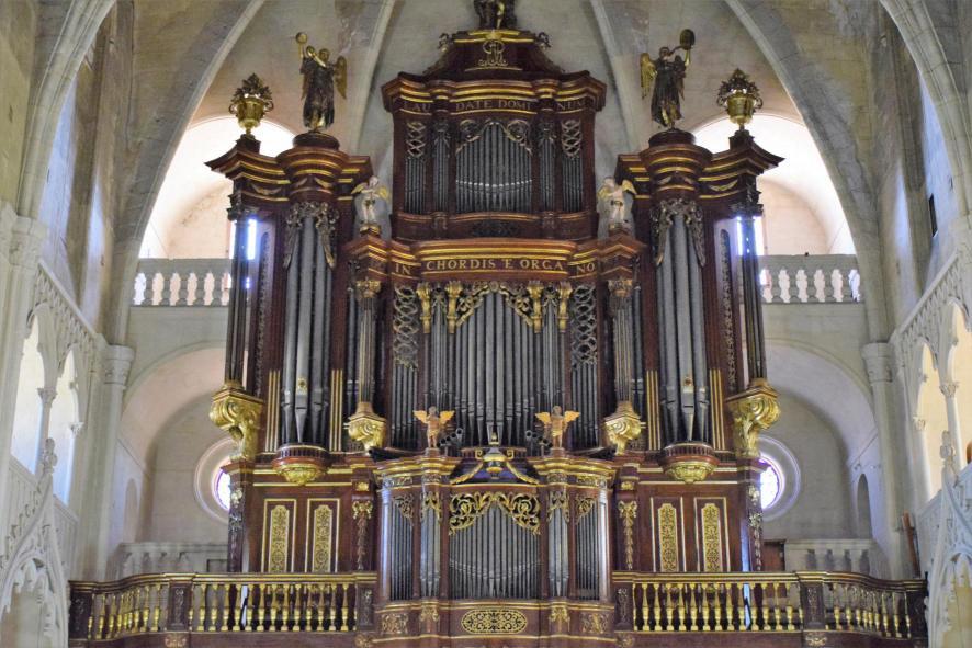 órgano De La Iglesia De Santa María Mahon Islas Baleares