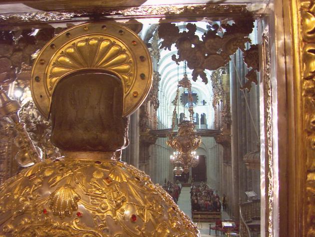 Interior catedral santiago de compostela la coru a - Interior santiago de compostela ...