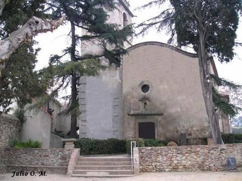 Fachada principal de la iglesia san crist bal lli a de - Casas en llica de vall ...