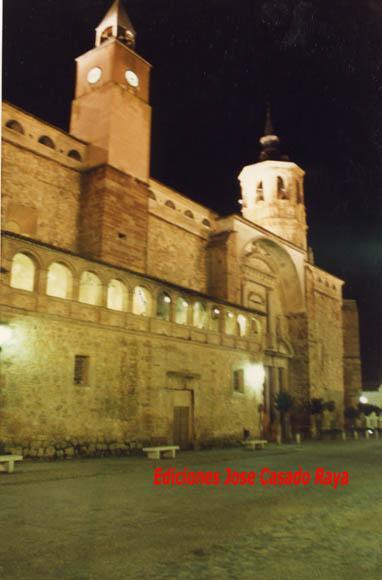 Iglesia de santa catalina por la noche la solana ciudad - Parroquia santa catalina la solana ...