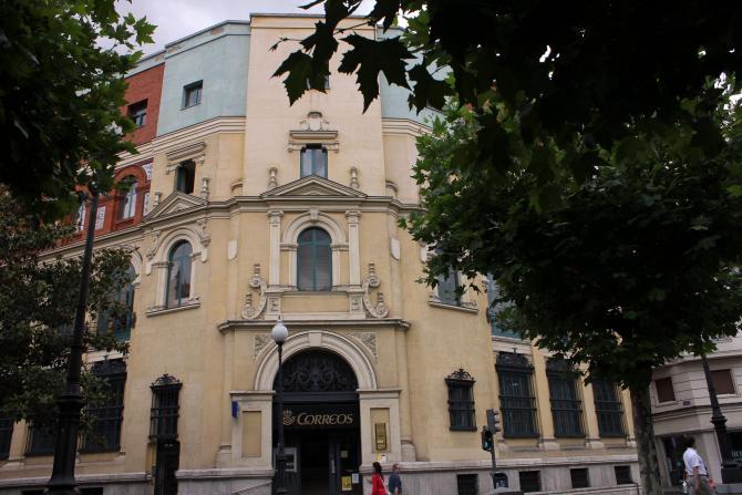 Edificio de correos valladolid for Oficina de correos valladolid