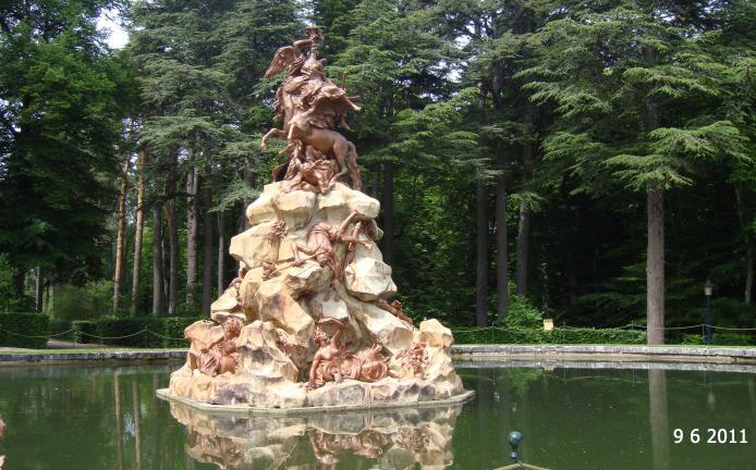 Fuente De La Fama San Ildefonso O La Granja Segovia