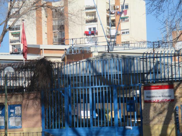 Colegio República de Ecuador, MADRID