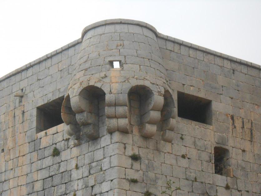 Detalle De La Torre Vigia Torre Del Rey Oropesa Del Mar Castellon