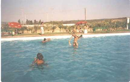 Juegos en la piscina en verano casillas de coria c ceres for Piscina climatizada caceres