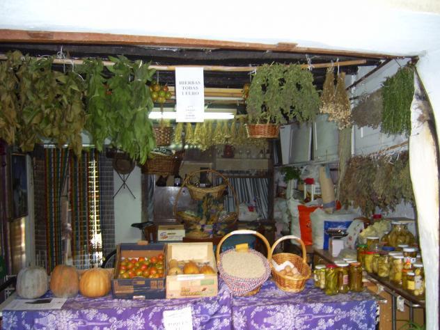 tienda de hierbas naturales