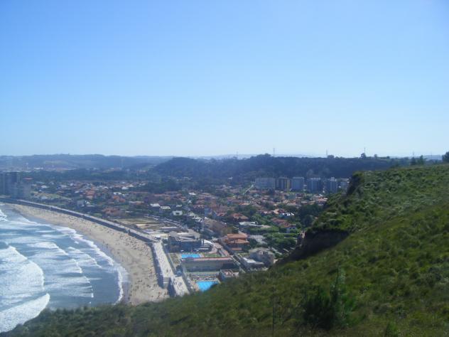 Panoramica de salinas piedras blancas asturias - Hotel salinas asturias ...