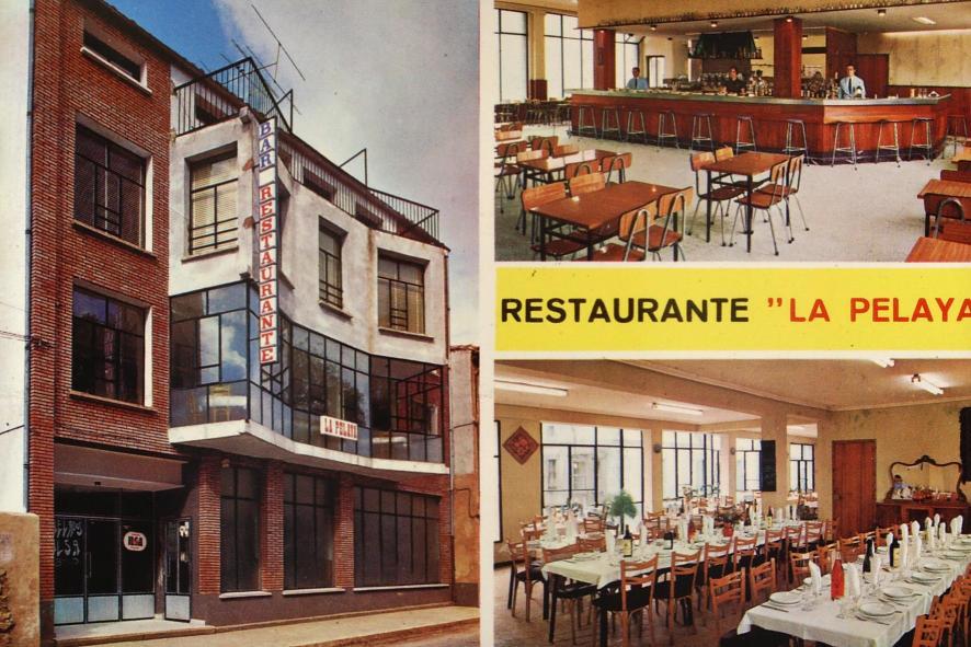 El ya desaparecido bar restaurante la pelaya a os 70 for El salas restaurante