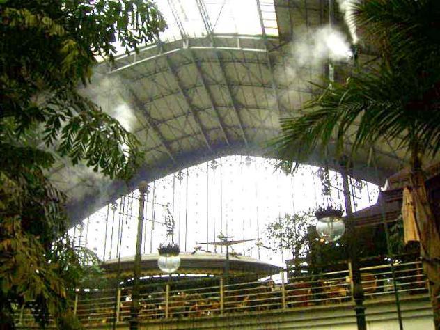 Atocha jard n tropical 14 madrid for Jardin atocha