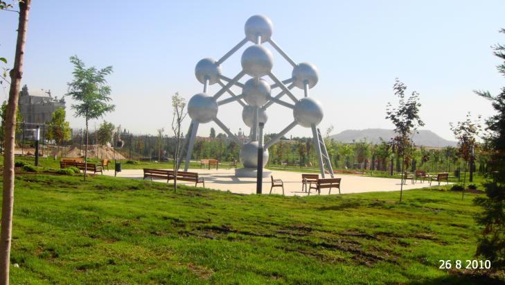 El atomium parque europa torrejon de ardoz madrid - Fotos de torrejon de ardoz ...