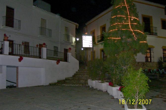Plaza En Navidad  Carratraca  M U00e1laga