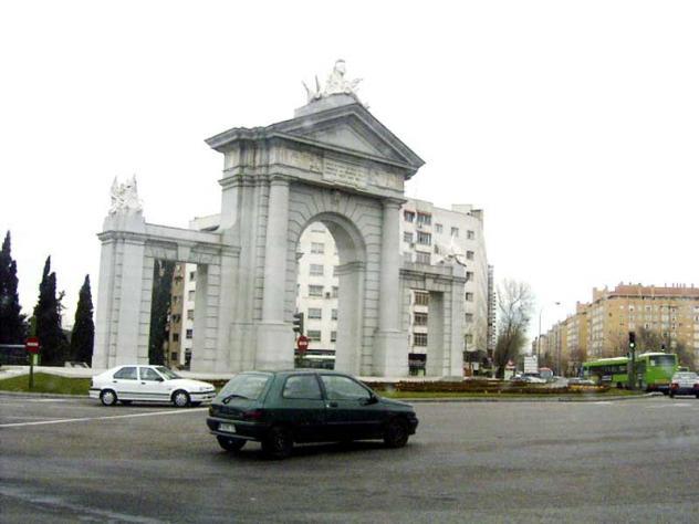 Arco Del Triunfo Madrid