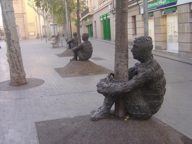 Escultura original sant feliu de llobregat barcelona - Temperatura sant feliu de llobregat ...