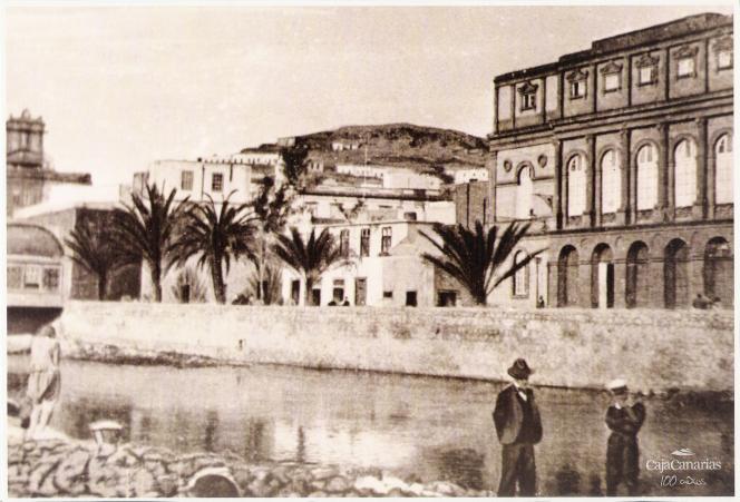 Fotograf a antigua del barranco de guiniguada las palmas - Fotografia las palmas ...