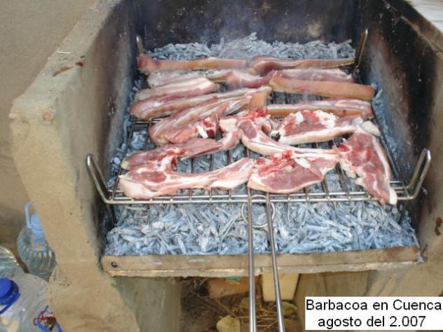 Barbacoa casera gustais cuenca de campos valladolid - Barbacoa de obra casera ...