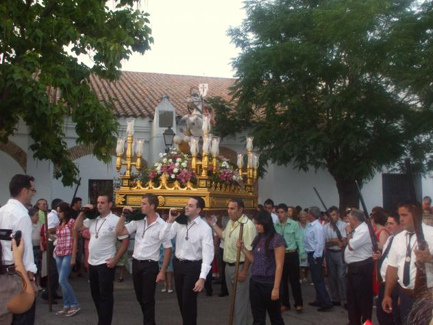 Procesi n santiago ap stol villanueva del rey c rdoba for Villanueva del rey