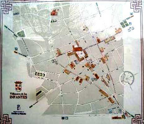 Planos de monumentos villanueva de los infantes ciudad real - Plano de ciudad real ...