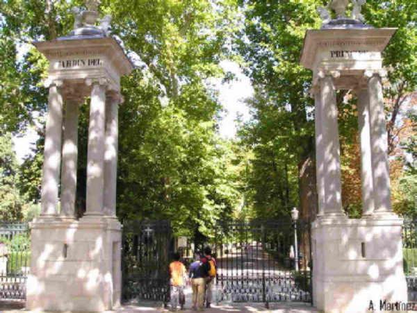 Jardin del principe entrada aranjuez madrid - Jardin del principe aranjuez ...