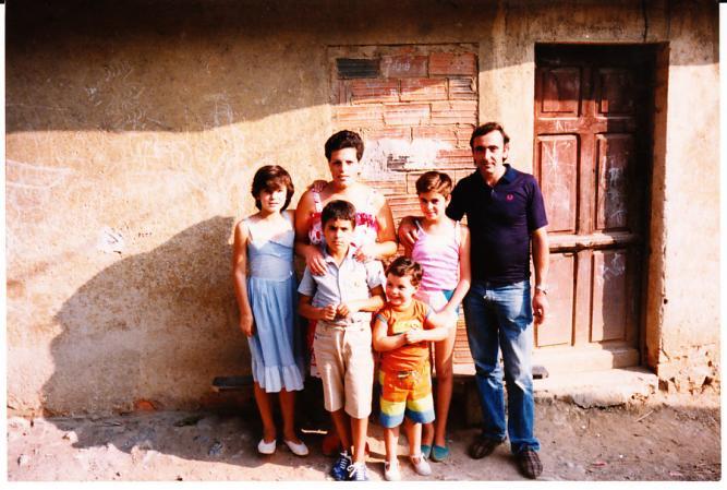 berto la mujer y los hijos, PIEDRACEDA (Asturias)