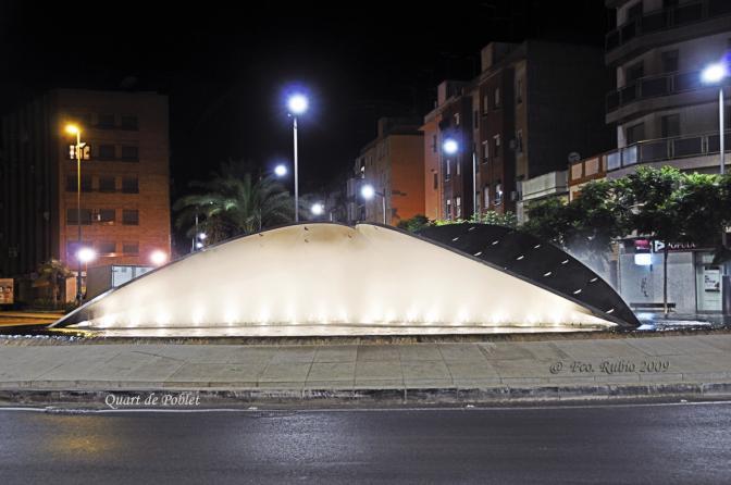 Fuente de la alcachofa - Nocturna, QUART DE POBLET (Valencia)