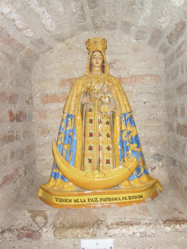 Virgen De La Paz Patrona Ronda Malaga