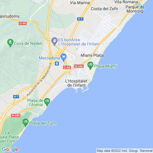 L 39 hospitalet de l 39 infant tarragona for Hospitalet del infant